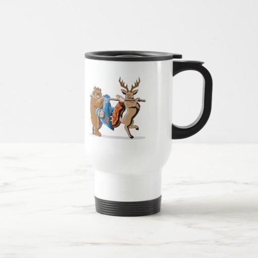 Anti Hunting Animal Revenge Stainless Steel Travel Mug