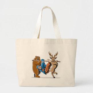 Anti Hunting Animal Revenge Canvas Bag