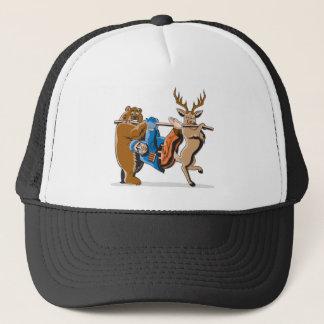 Anti Hunting Animal Revenge Trucker Hat