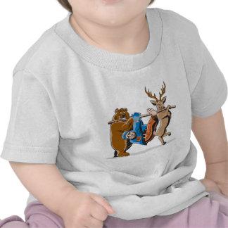 Anti Hunting Animal Revenge Shirts
