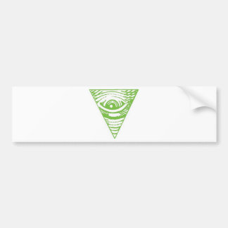 Anti-Illuminati Bumper Sticker