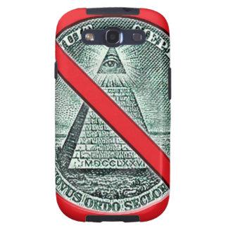 Anti Illuminati Mobile Phone Case Samsung Galaxy SIII Covers