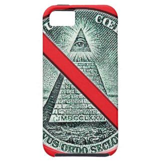 Anti Illuminati Mobile Phone Case Case For The iPhone 5