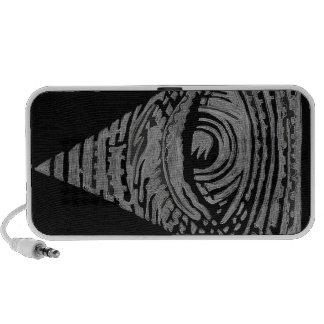 Anti-Illuminati iPhone Speakers