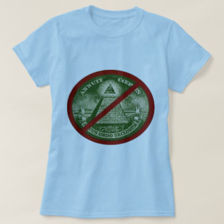 ANTI-ILLUMINATI T-shirt for women