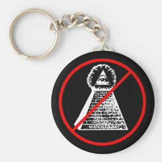 Anti Illuninati Key Ring