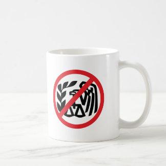 Anti-IRS Basic White Mug