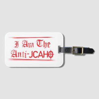 Anti-JCAHO Luggage Tag