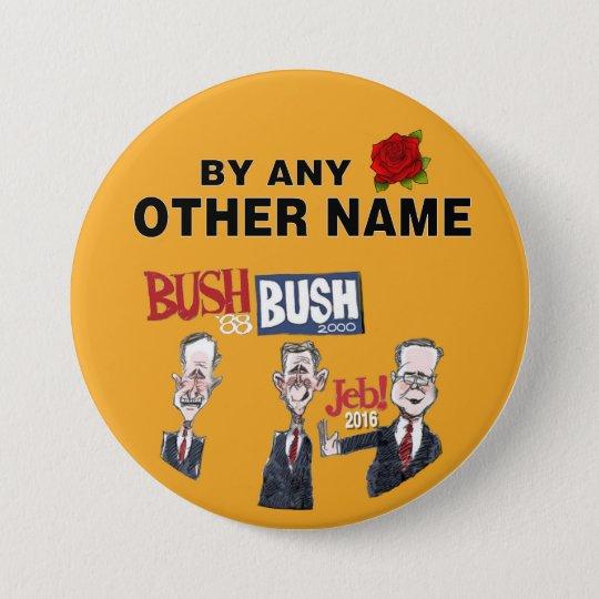 Anti-Jeb Bush 2016 7.5 Cm Round Badge