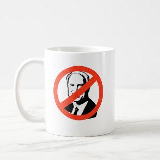ANTI-JOHN MCCAIN 2 COFFEE MUGS