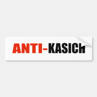 ANTI-KASICH BUMPER STICKER