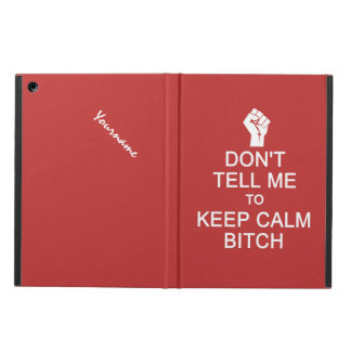 Anti - Keep Calm custom cases iPad Air Covers
