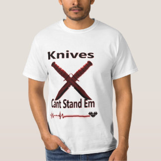 Anti knife Crime TShirt