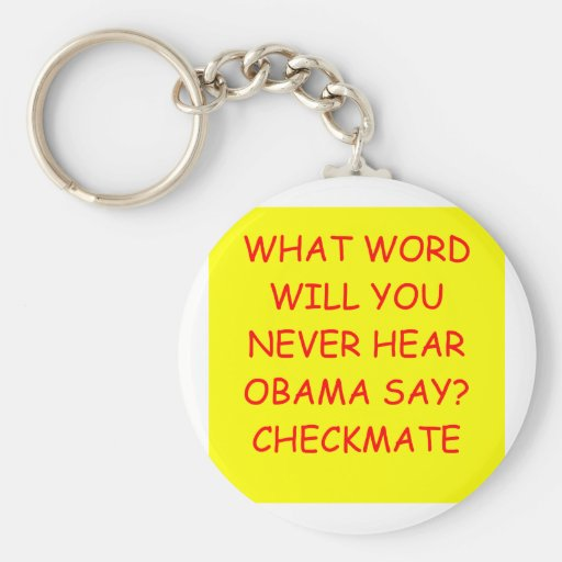 anti liberal anti obama joke key chain