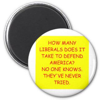 anti liberal anti obama joke magnet
