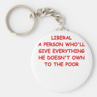 anti liberal key chains