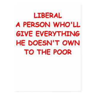anti liberal postcards