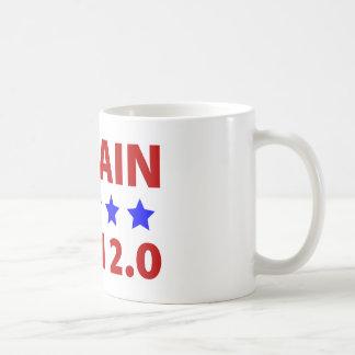 Anti McCain Bush 2.0 Basic White Mug