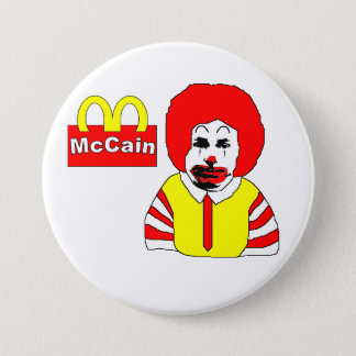 Anti McCain Button