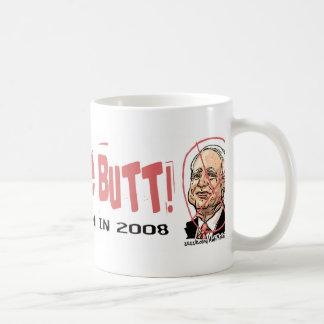 Anti-McCain Circle Basic White Mug