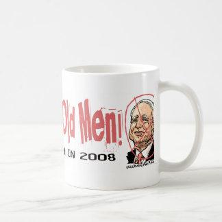 Anti-McCain Circle McAncient Basic White Mug