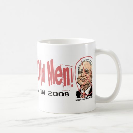 Anti-McCain Circle McAncient Coffee Mugs