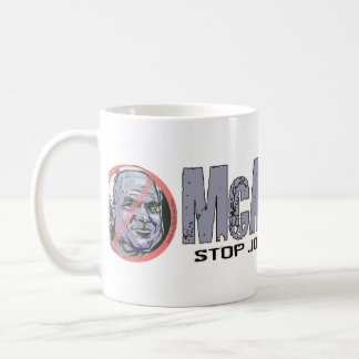 Anti-McCain Circle McAncient Coffee Mug