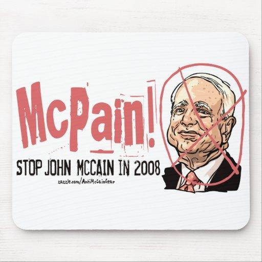 Anti-McCain Circle Mouse Pads