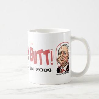 Anti-McCain Circle Classic White Coffee Mug