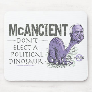 Anti McCain McAncient Mouse Pad