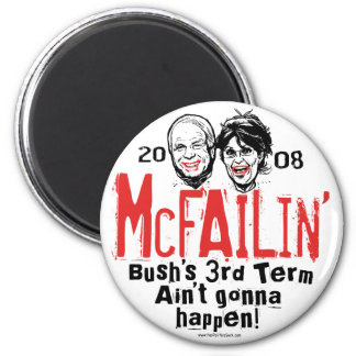 Anti McCain Palin McFailin' magnet