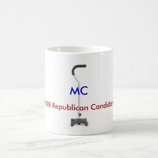 Anti-McCain see both sides Basic White Mug