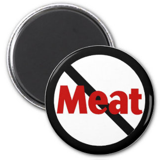 Anti Meat Refrigerator Magnets