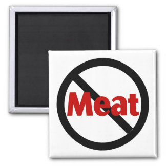 Anti Meat Square Magnet