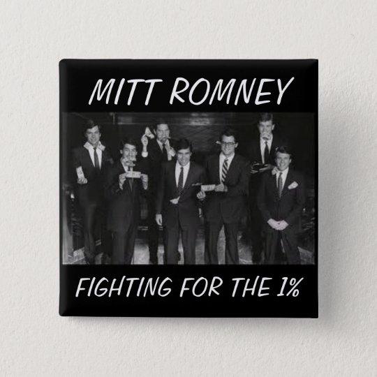 Anti-Mitt Romney button