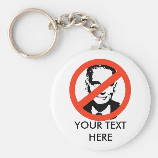 ANTI-NADER: ANTI-Ralph Nader Key Chain