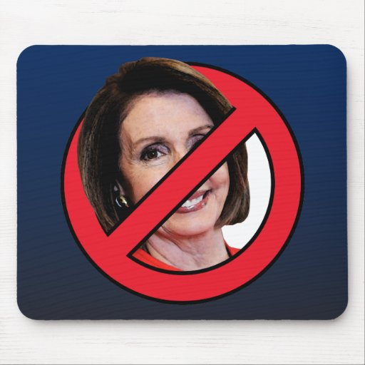 Anti Nancy Pelosi Mousepads