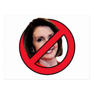 Anti Nancy Pelosi Postcard