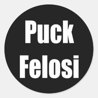 Anti Nancy Pelosi - Puck Felosi Classic Round Sticker