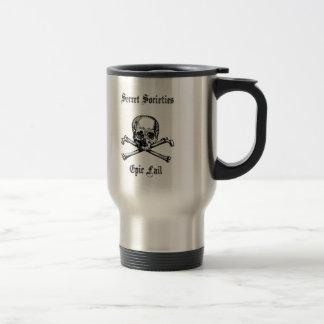 Anti New World Order / Secret Societies Travel Mug