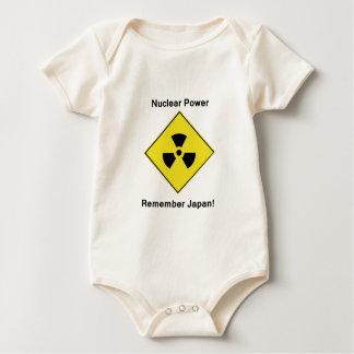 Anti Nuclear Power Logo Baby Bodysuit