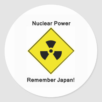 Anti Nuclear Power Logo Stickers