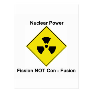 Anti Nuclear Power Postcard