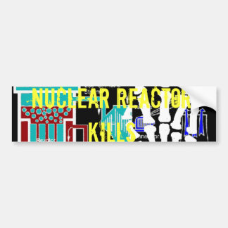 Anti-Nuclear Reactor Protest Products Bumper Sticker