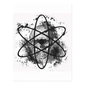 """Anti Nuclear Skeleton""* Postcard"
