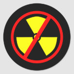 Anti-Nuclear Symbol Sticker
