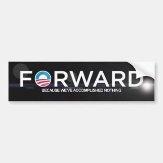 Anti Obama - 2012 Bumper Sticker
