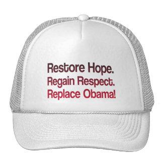 Anti Obama 2012 Election Cap
