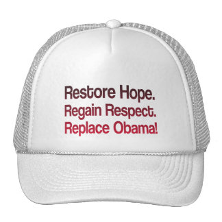 Anti Obama 2012 Election Mesh Hats