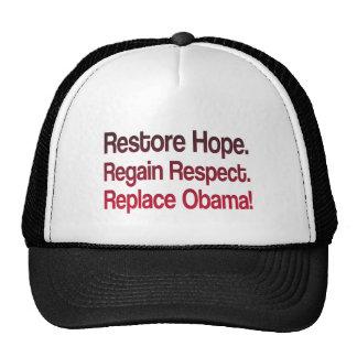 Anti Obama 2012 Election Hats